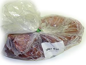 Raw Health 4 Dogs Turkey Necks 1kg
