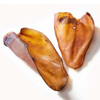 Dehydrated Australian Cow Ears 10 pack for dogs