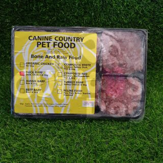 Image of Canine Country Turkey BARF Portion Tray 1kg