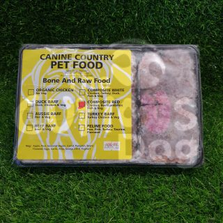 Image of Canine Country Composite Red BARF Portion Trays 1kg