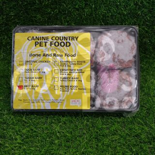 Image of Canine Country Beef BARF Portion Tray 1kg