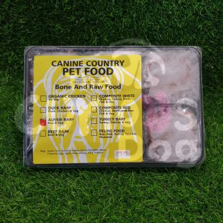 Image of Canine Country Aussie Kangaroo BARF Portion Tray 1kg