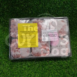 Image of Canine Country Venison & Wild Boar BARF Portion Tray 1kg