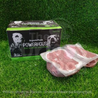 Organic Paws Powerhouse Blend 1.5kg Goat & Lamb with Leafy Greens