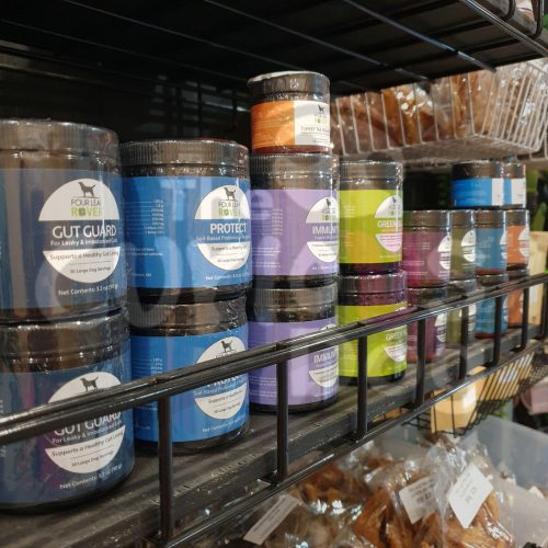Image of Four Leaf Rover products in store at The Curious Dog